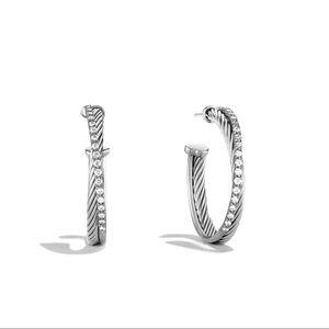 ⭐️HOST PICK⭐️ 💎 David Yurman Hoop Earrings